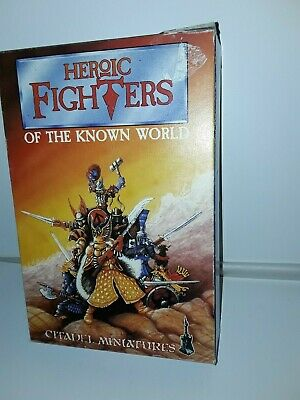 Citadel  heroic  fighters of the known  world  box only  1996