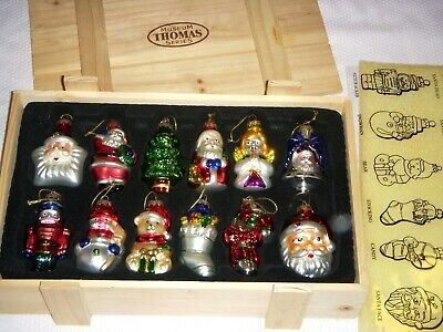 Thomas Pacconi Sr. Museum Series 1900-2000 Glass Ornament Collection