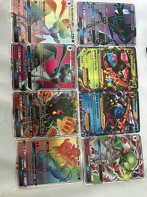 Lot De 8 Cartes Pokemon Gx Secrete