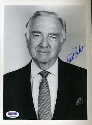 WALTER CRONKITE PSA DNA Hand Signed 8x10 Photo Original Autograph