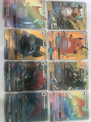 Lot De 8 Cartes Pokemon Gx