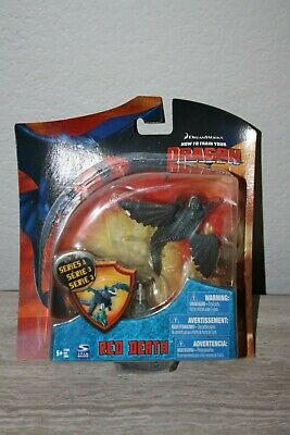 HOW TO TRAIN YOUR DRAGON SPIN MASTER RED DEATH RARE  HTTYD Series 3 TOY