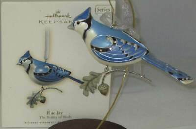 2007 Hallmark Blue Jay The Beauty of Birds #3