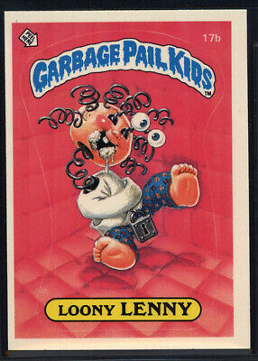 1985 Topps Garbage Pail Kids 1st Series #17b Loony Lenny (Near Mint) *699100