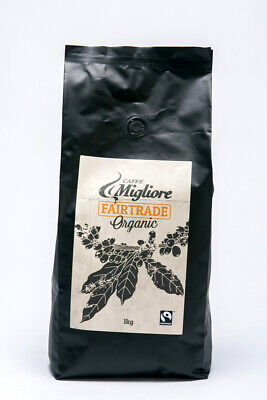 3kgs of Coffee Beans, Freshly Roasted, Organic and Certified FairTrade