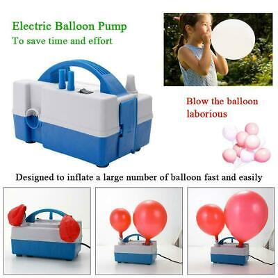 High Power Portable 240V Electric Air Blower Xmas Party Balloon Pump Inflator UK