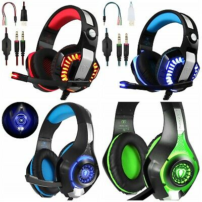 Auriculares Headset Ps4 Xbox One Pc Gaming Cascos, Varios Modelos