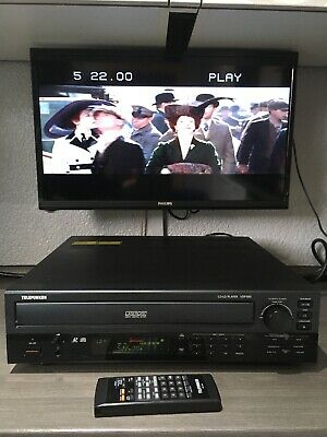 LD Telefunken VDP-500 PAL Analog/Digital Laserdisc Player & FB (Pioneer CLD1600)
