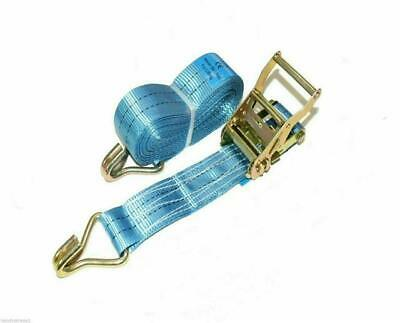 Ratchet Straps Tie Down 1 x 50mm 6 Metre 2 tons Lorry Lashing