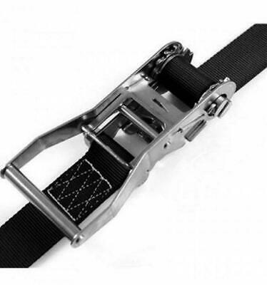 Ratchet Straps Tie Down 5.5 Metre x 50mm Stainless Steel endless Lorry