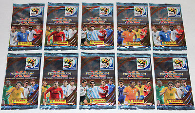 PANINI ADRENALYN XL TRADING CARDS WC SOUTH AFRICA 2010-Display box 50 packets