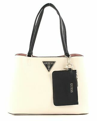 GUESS ARETHA GIRLFRIEND Carryall Handtasche Tasche Cognac