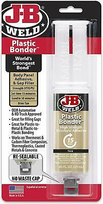 J-B Weld 50133 Plastic bonder high strength panel adhesive - Tan 25ml