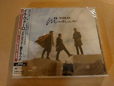 ◆Fs◆Il Volo「Musica+1」Japan Rare Sample Cd New◆Sicp-6091