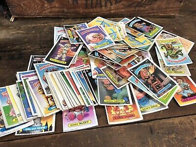 GARBAGE PAIL KIDS ORIGINAL 1980's 94 CARD RANDOM LOT CARDS 1986