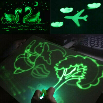 Draw With Light Fun And Developing Toy Drawing Board Magic Draw Educational HOT