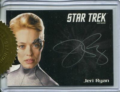 Star Trek Voyager H&V Autograph Card Jeri Ryan as Seven of Nine 6 Case