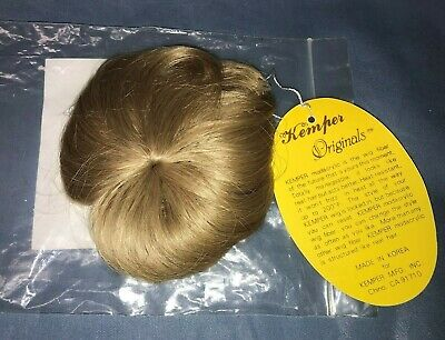 New 100/% Mohair Doll Wig Size 16-17 Style Infant Color Blonde By Kemper