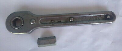 vintage Indestro ratchet   1/2 inch hex drive 7 inches long work