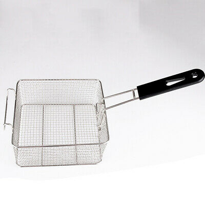 Stainless Steel Deep Fry Basket Oil Fried Chips Fish Nuggets Fryer Kitchen Tool