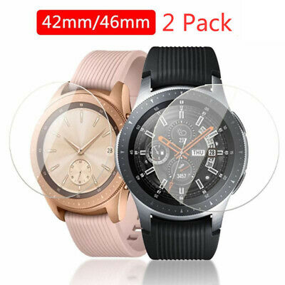 2* Tempered Glass Film Screen Protector Set Kit For Samsung Galaxy Smart Watch