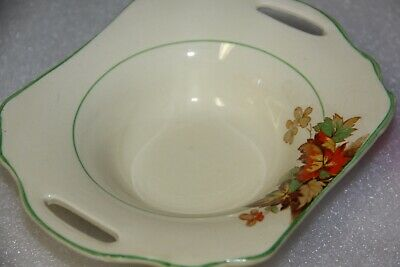Wilkinson Bowl Made in England vintage collectible pottery autumn theme signed