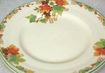 Grindley x 3 plates breakfast plate side plate vintage English Pottery 3 plates