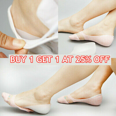 Heel Lift Taller Shoe Inserts Height Increase Insoles Pads Silicone Gel Pad Sock