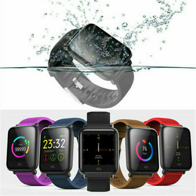 Q9 Smart Watch Blood Pressure Heart Rate Monitor Fitness IP67 Waterproof Watches
