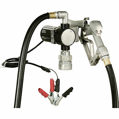 Roughneck Fuel Transfer Pump - 1/4 HP, 12 Volt, 8 GPM