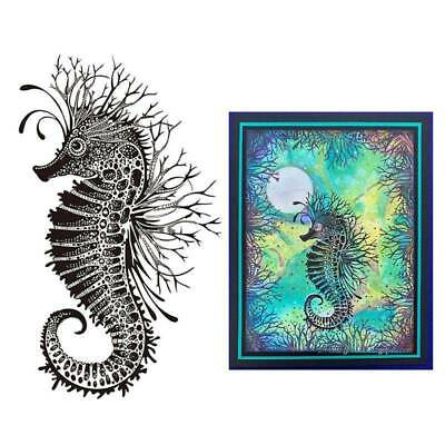 Seahorse Silicone Clear Seal Stamp DIY Scrapbooking Embossing Album Photo Decor