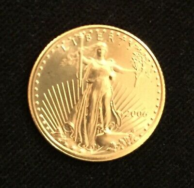 1/10 oz American Gold Eagle $5 2006 BU (G0004)