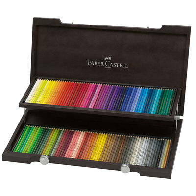 Faber Castell Polychromos Pencil Wooden Box Set of 120
