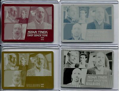 Star Trek Deep Space Nine H & V Archive Ex. Printing Plate Base Card Set #66