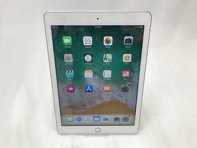 "Apple iPad 5th Gen A1822, 32GB, Wi-Fi, 9.7"" Retina Display 2017, White & Gold"