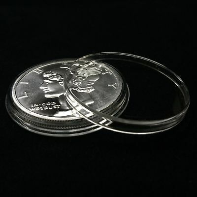 100 Air-Tite Holders H39 Coin Capsules for 1 oz Silver Round 39mm