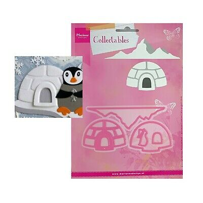 Igloo Metal Die Cut Christmas Winter Eline's Marianne Cutting Dies COL1417