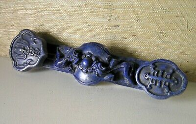Ancient Chinese Handwork Lapis Lazuli Carved Ruyi