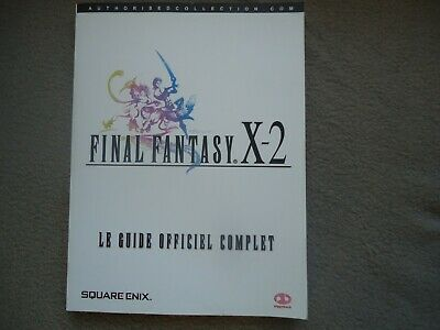 Edition Strategy Guide complet piggyback Games livre final fantasy 10 2 X PS2