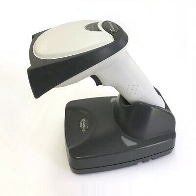 Honeywell 4820 HDH Wireless 2D Barcode Scanner w/Base and Power Adapter/Charger