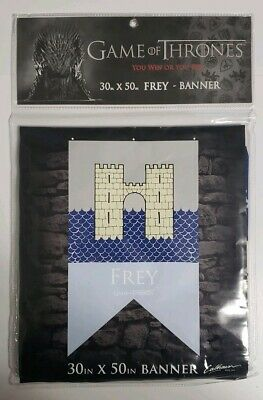 """GAME OF THRONES HOUSE BANNER FREY LICENSED FLAG 30"""" x 50"""""""