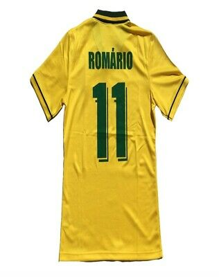 Camiseta Retro  Jersey Romario Brazil 1994 World Cup