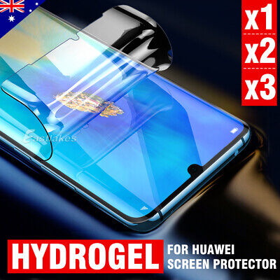 For Huawei Mate 20 Pro P30 Pro HYDROGEL Full Coverage Crystal Screen Protector