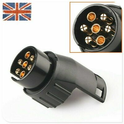 7 to 13 pin Tow bar Towing Socket Plug Adapter Converter Trailer Truck Caravan