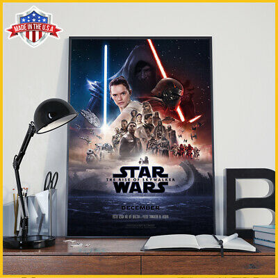 Star Wars IX Poster Rise Of The Skywalker 2019 Movie Poster No Frame Made In US
