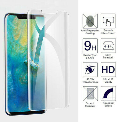 3D Curved edge Screen Protector Tempered Glass Film For Huawei Mate 20 Pro Lite