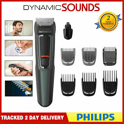 Philips MG3747/13 Multigroom 9-In-1 Viso, Corpo e Capelli Trimmer Kit Cura