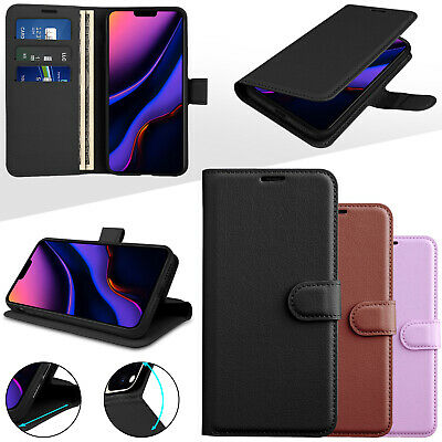 For iPhone 11 Pro Max Case Slim Protective Wallet Flip Card Soft Leather Cover