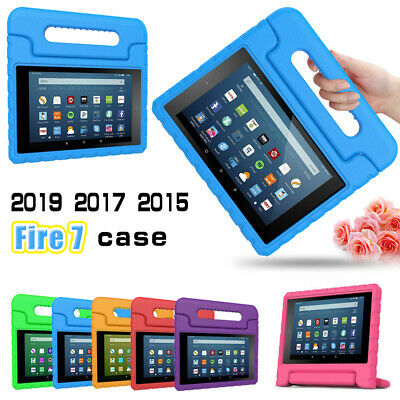 2019 Amazon Fire 7 7'' Kids eidition tablet Safe Shockproof EVA Case Cover Stand