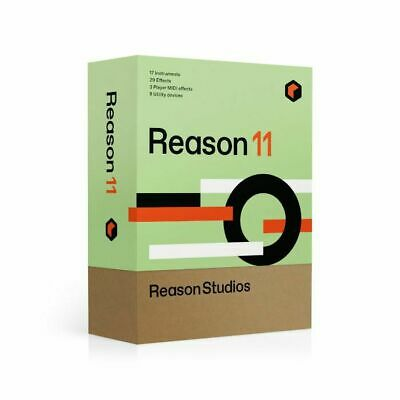 Propellerhead Reason 11 Music Production Software Upgrade (full retail boxed ...